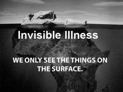 invisible illness under the surface