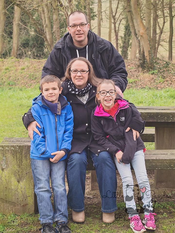 Family photoshoot Kent