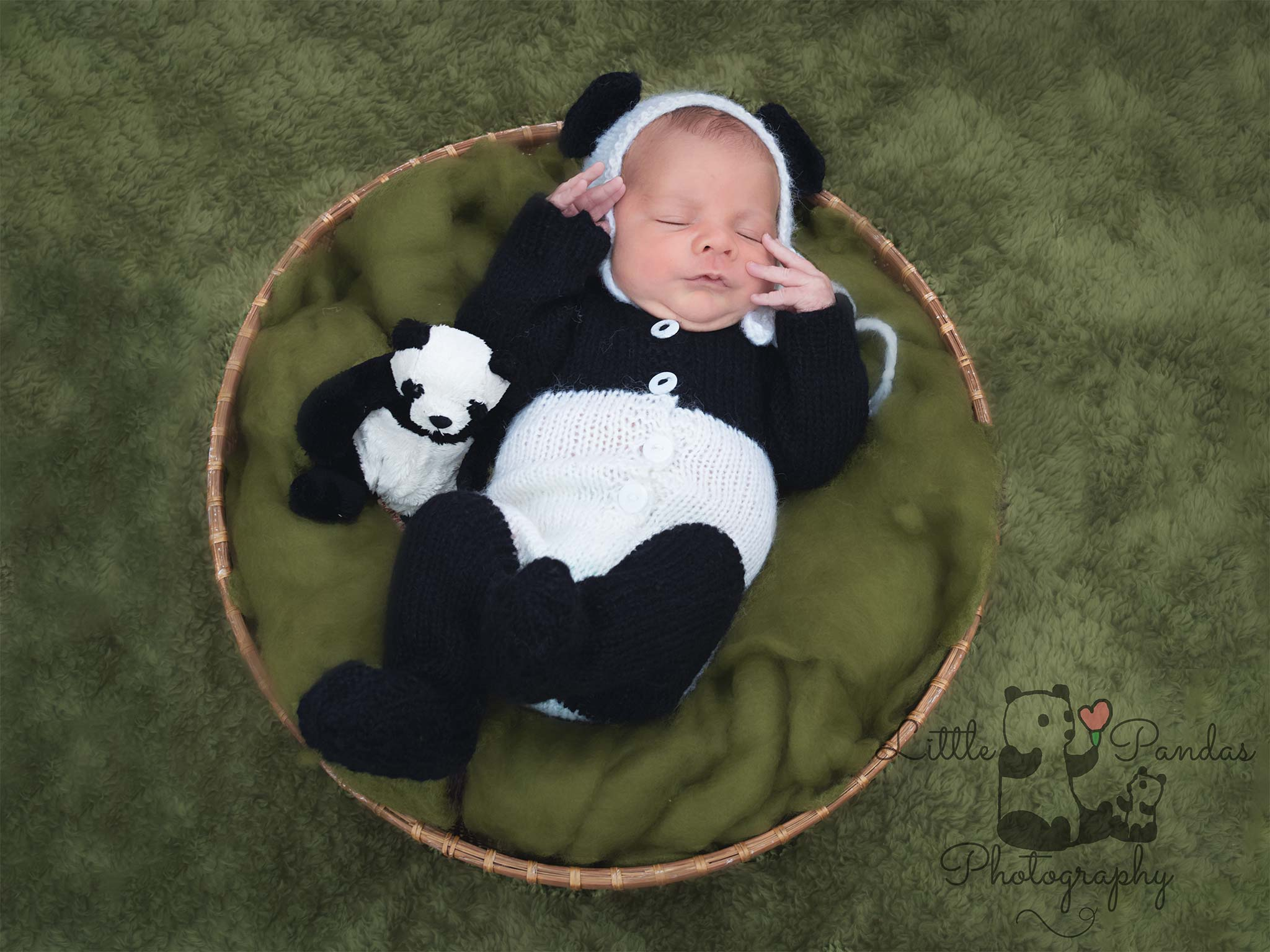 Little Pandas photography socially distanced newborn sessions
